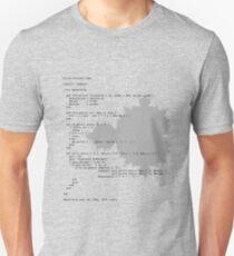 Self-Documenting Mandelbrot T-Shirt