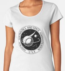 NASA Oldie Women's Premium T-Shirt