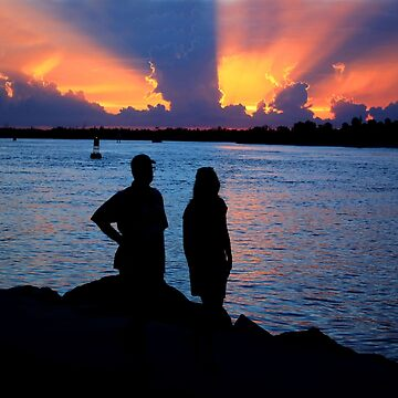 INDIAN RIVER SUNSET by TomBaumker