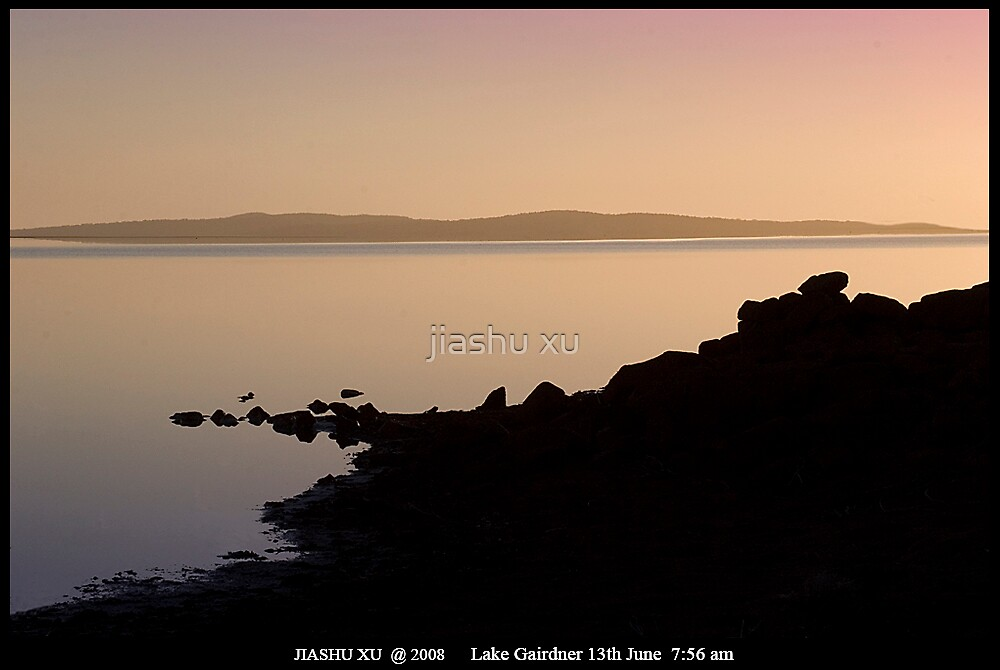 Lake Gairdner-13Jun-7.56am by jiashu xu