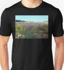 Field of  Thistle Flowers T-Shirt