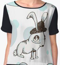1920s Bunny Chiffon Top