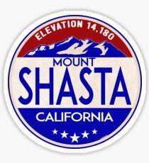 MOUNT SHASTA CALIFORNIA CASCADE RANGE CASCADES VOLCANO Sticker