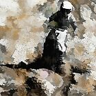Down and Dirty! - Motocross Racer by NaturePrints