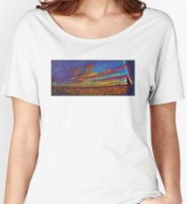 Psychedelic Sky Women's Relaxed Fit T-Shirt
