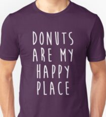Donuts Are My Happy Place T-Shirt