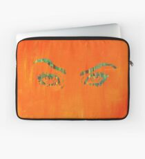 the walls have eyes.  Laptop Sleeve