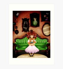 Dollhouse Art Print