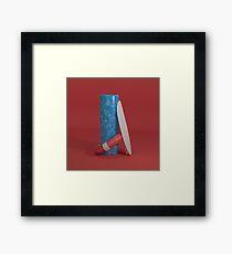 Surfin Framed Print