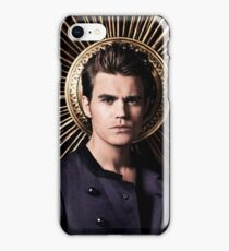 Stefan Salvatore - The Vampire Diaries - Season 4 - Promotional Poster iPhone Case/Skin