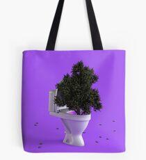 Toilet Tree Tote Bag