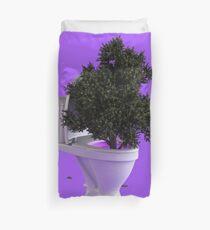 Toilet Tree Duvet Cover