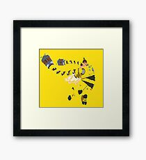 Mechanica Minimalist Framed Print
