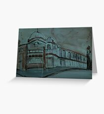Flinders Station Facade Greeting Card