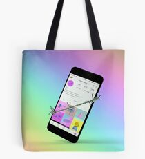 Wrapped Up Tote Bag