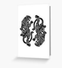 Black Panther - 2 Greeting Card
