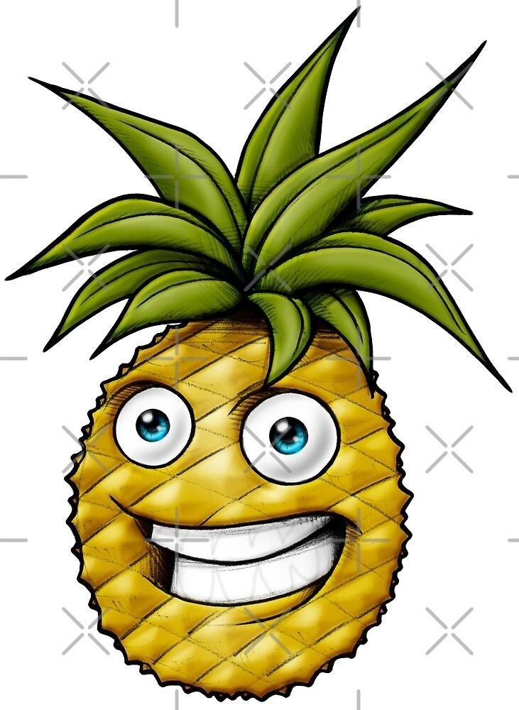 Pineapple healty vegan  by Delpieroo