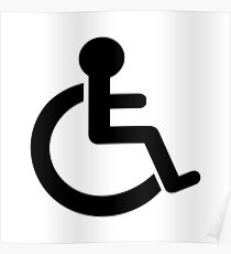 Disability Symbol Poster