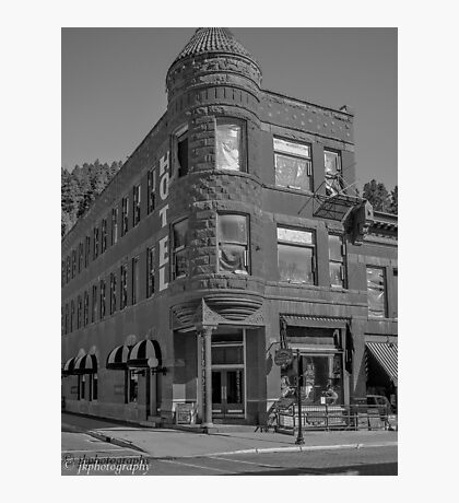 A Day in Deadwood SD Photographic Print