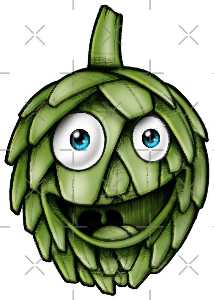 Artichokes Healthy Vegan by Delpieroo