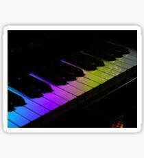 Tone Colours - Rainbow Keyboard Sticker