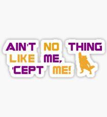 Ain't no Sticker