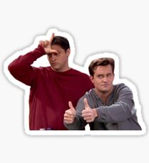 Chandler Bing Joey Tribbiani Friends Sticker