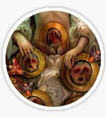 Dollhouse Womb Sticker