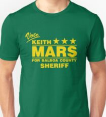 Keith Mars for Sheriff (Color) T-Shirt