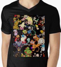 Retro Cartoons rugrats 80s 90s tv show cartoon rockos life Men's V-Neck T-Shirt