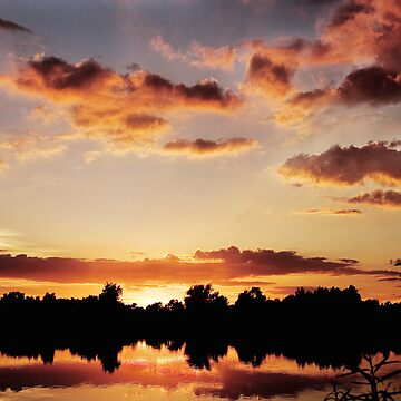Somerford Keynes Sunset by kens