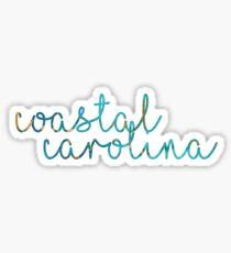 Coastal Carolina Sticker