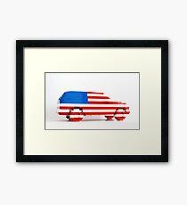 American SUV Framed Print