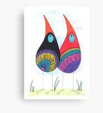 Bird Twins Canvas Print