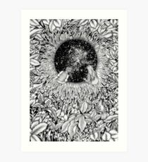The Hole We Found in the Garden Art Print