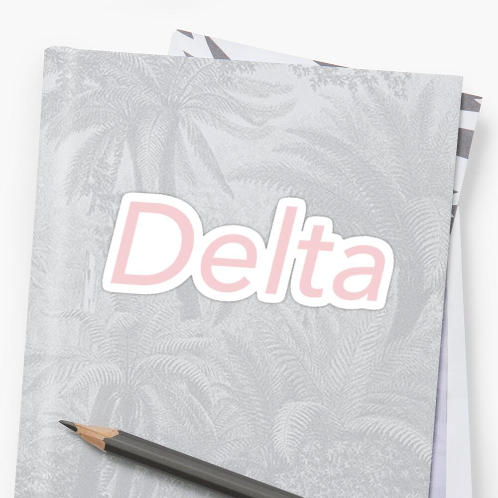 Delta by millenialthink