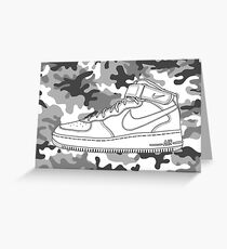 Air Force 1 Greeting Card