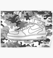 Air Force 1 Poster
