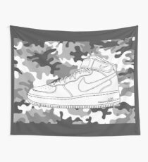 Air Force 1 Wall Tapestry