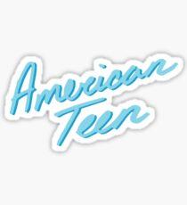 AMERIKANISCHES JUGENDLICHES BLAU Sticker