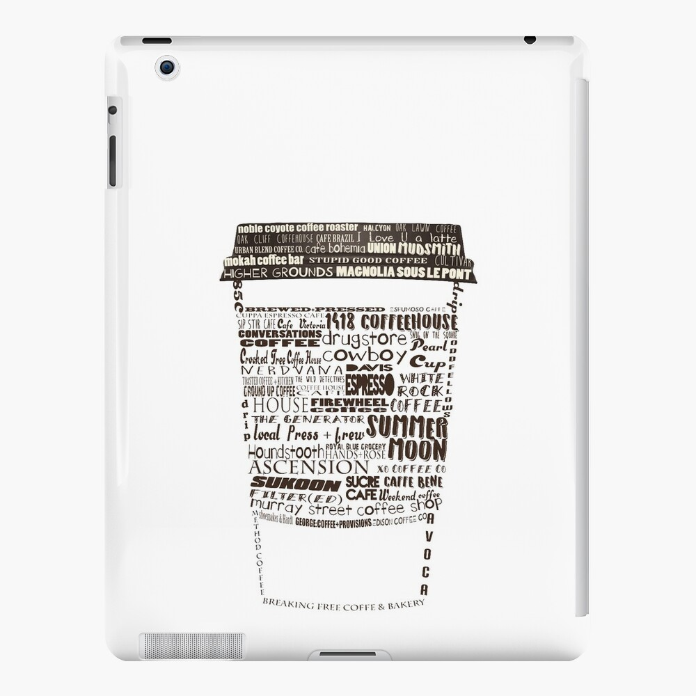 Dallas Coffee Shops iPad Cases & Skins