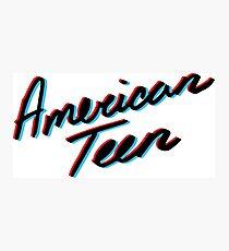 KHALID AMERICAN TEEN 3D Photographic Print