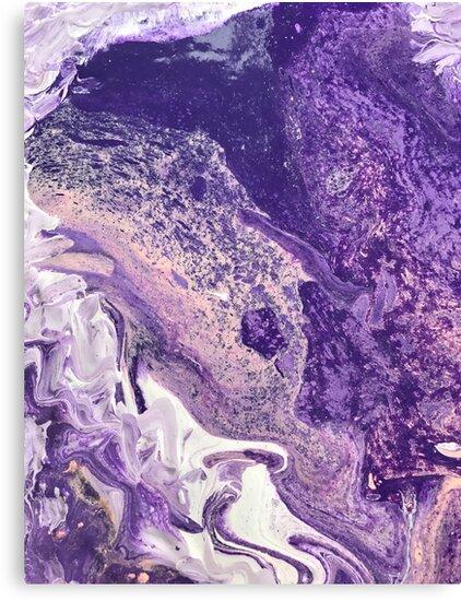 """Purple Haze"" Fluid Painting by alanaschmidt"