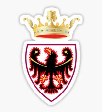 Trentino Coat of Arms, Italy Sticker