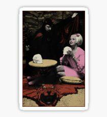 Anton LaVey & Jayne Mansfield Sticker