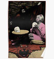 Anton LaVey und Jayne Mansfield Poster