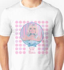 je vois la vie en rose bonbon Unisex T-Shirt