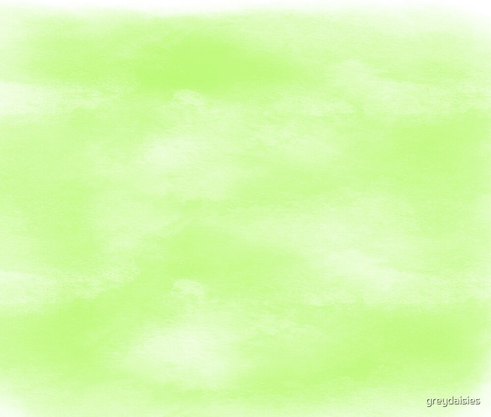Green Watercolor by greydaisies