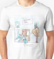 Writer Cat, A Comic by Stella Brians T-Shirt