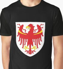 South Tyrol Coat of Arms, Italy Graphic T-Shirt